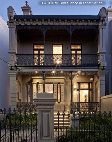 Victorian facade