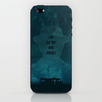 Breaking Bad no 3 iPhone & iPod Skin by OurbrokenHouse - $15.00