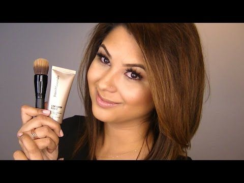 My bareMinerals Complexion Rescue Foundation Routine - YouTube