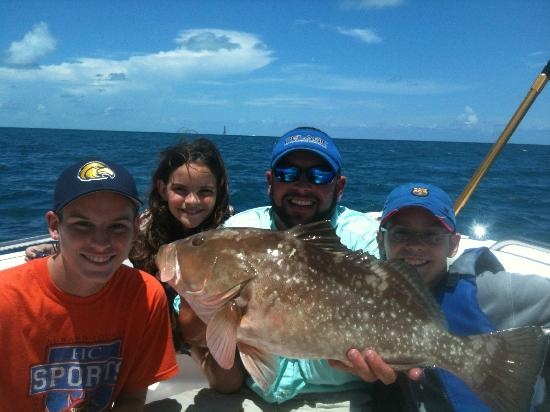 Captain doug kelley florida keys fishing charter private for Out of state fishing license florida