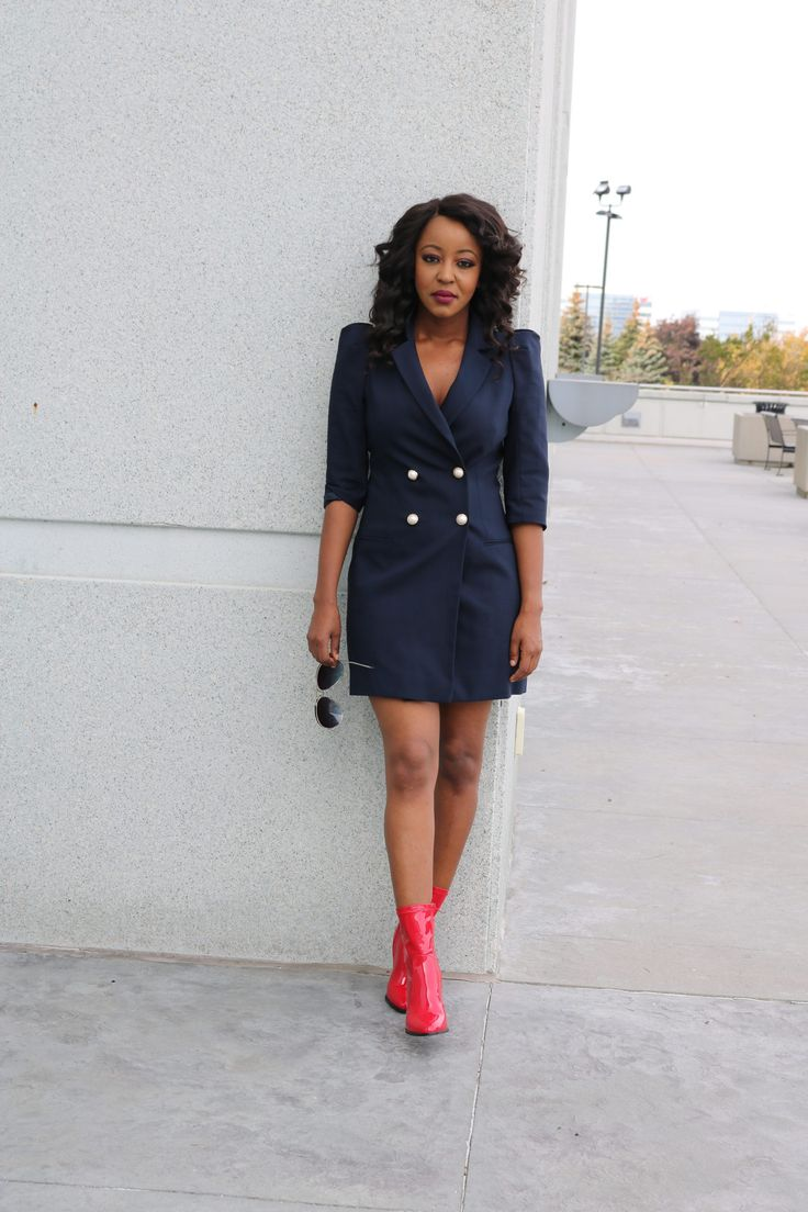 How to style your red boots this season