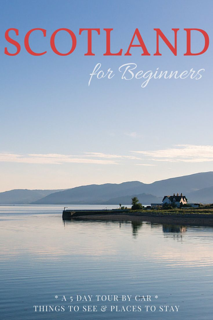 A magical road trip through the Scottish Highlands - Which route you should take and where you should stay. Scotland for beginners.