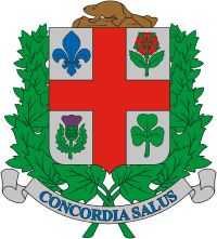 Montreal city's coat of arms