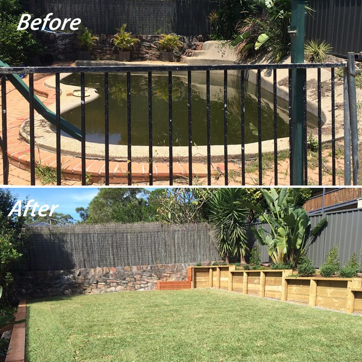 Does your backyard or garden need a transformation? Poppy's Landscape Team can help you!! This concrete swimming pool in-fill with associated landscape and garden works was recently completed by our landscaping team. For more info contact us on Ph: 49478255 or visit http://www.poppysgc.com.au/landscape-design/