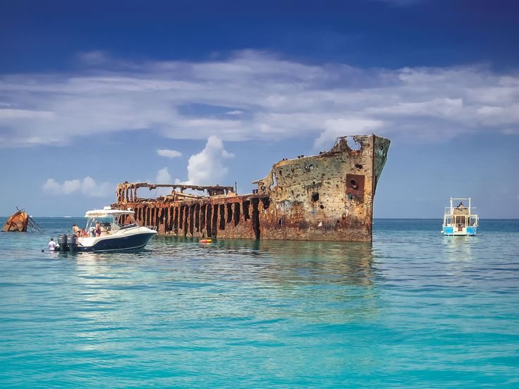 The Concrete Ship Ss Sapona South Of Bimini S South Island