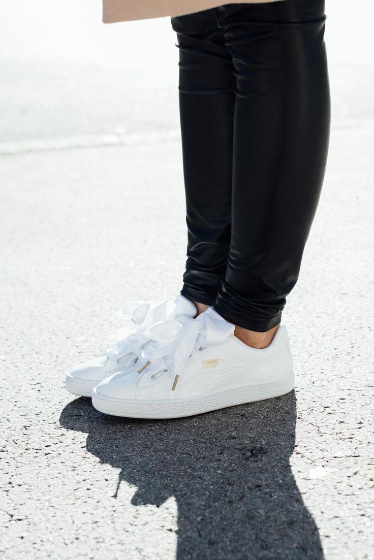 Puma Basket White Outfit
