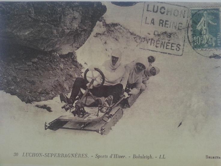 #carte postale - #Superbagnères #Luchon - www.hexia.fr