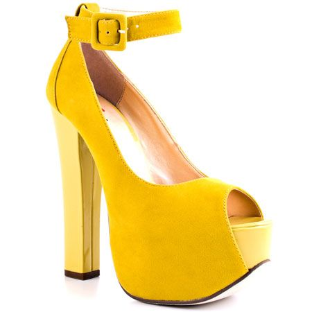 More Of It - Yellow Suede