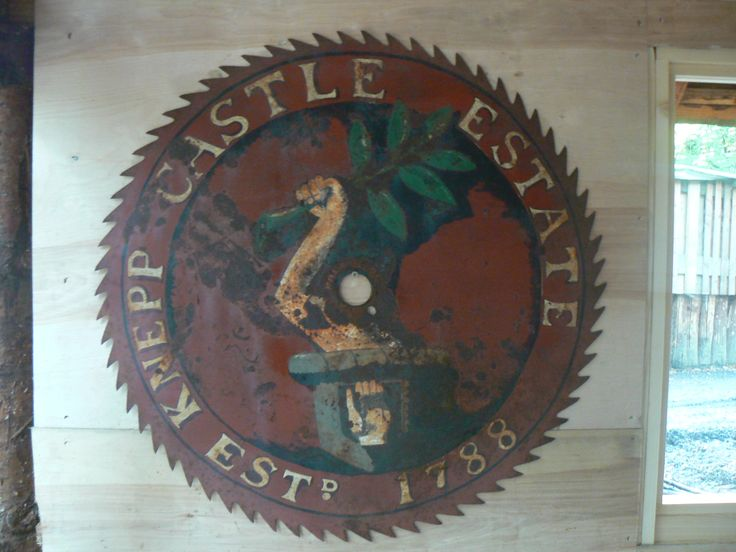 The Knepp Castle Sign