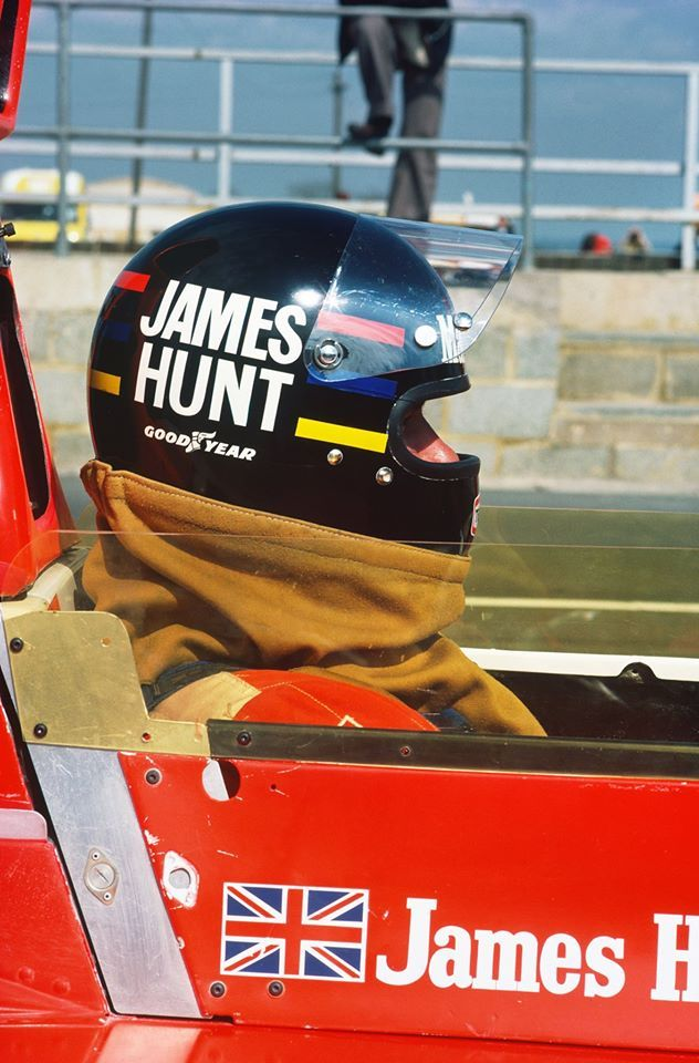 James Hunt ♦ A proper name for one who was passionate about chasing glory, victories and beautiful women. He was a great huntsman.