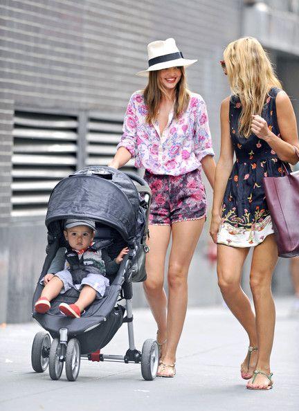 Miranda Kerr Photo - Miranda Kerr and Son Flynn Walk with a Friend in NYC