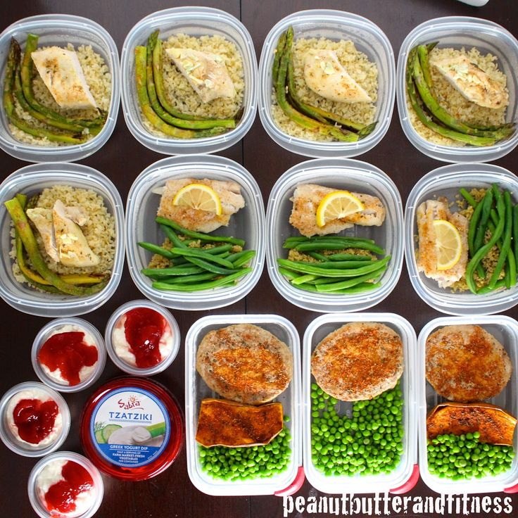 Meal Prepping Ideas For The Week This Meal Prep Includes