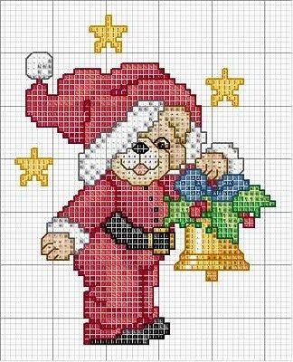 Mais-gráficos-de-ponto-cruz-do-Papai-Noel19