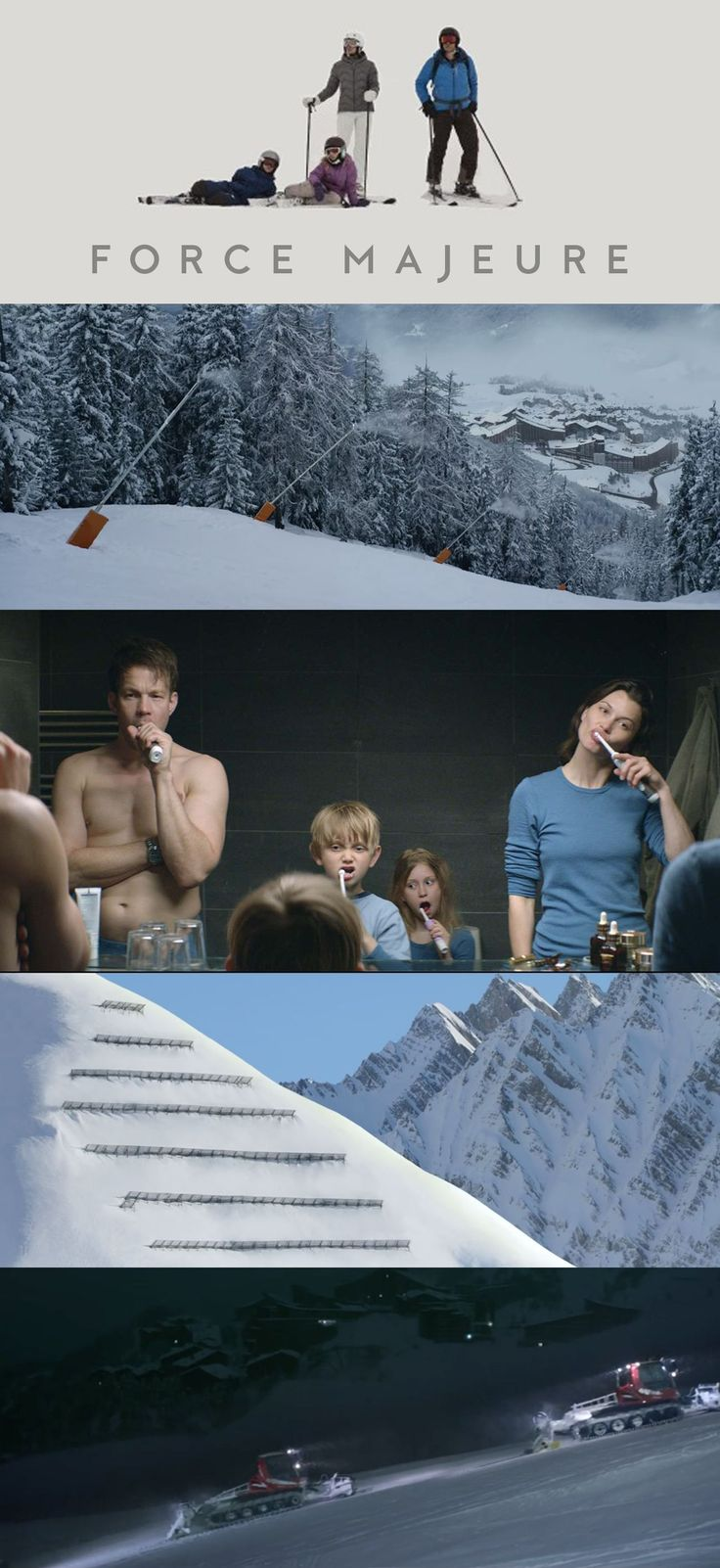 Art direction and cinematography of Force Majeure. Full film review on the blog. #FilmSchoolsReview