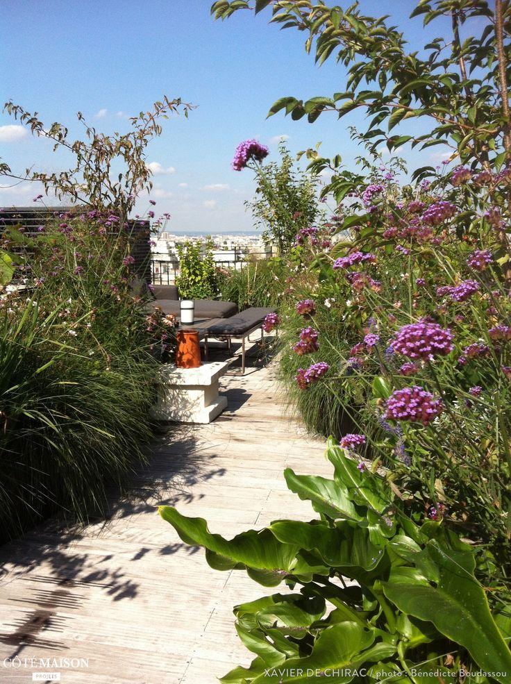 Les 10 meilleures id es de la cat gorie jardins sur le for Jardin sur le toit