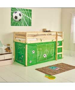 Football Tent for Single Mid Sleeper Bed Frame.