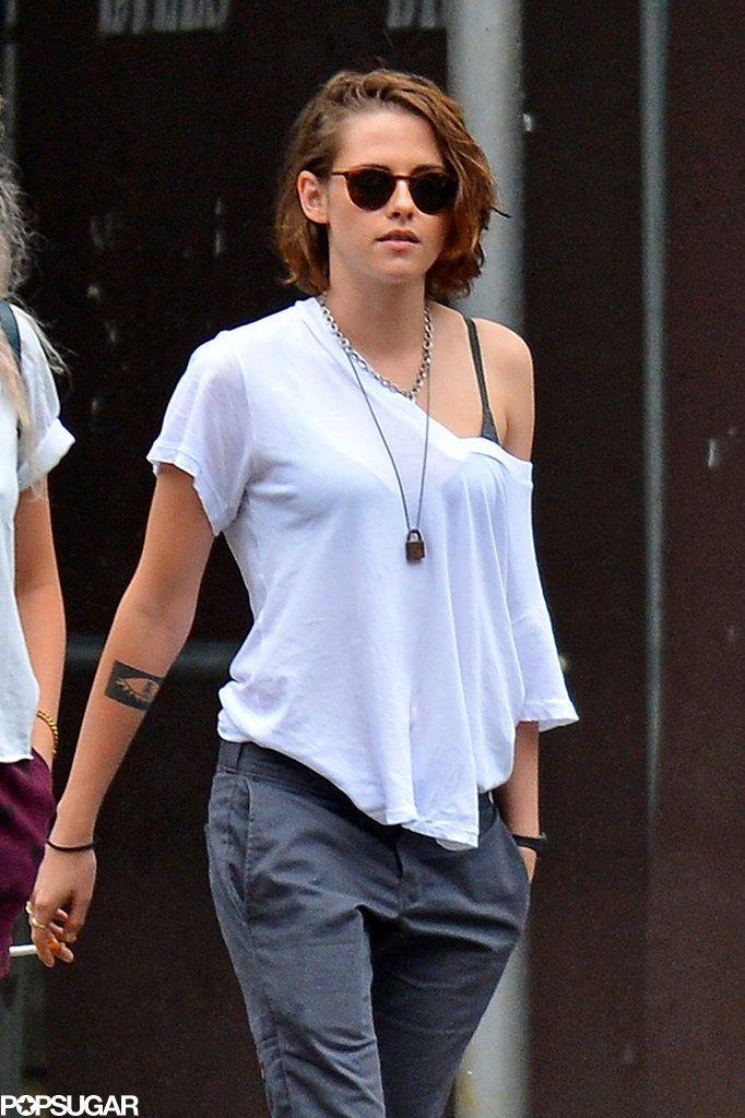 Kristen Stewart Out in NYC September 2015   POPSUGAR Celebrity