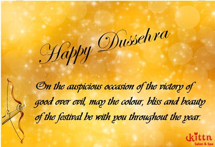 Wishing everyone a very HAPPY DUSSEHRA. #kittnsalon