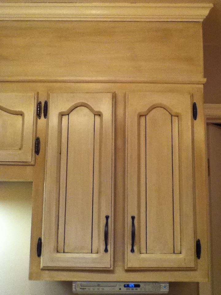 How To Distress Kitchen Cabinets Black