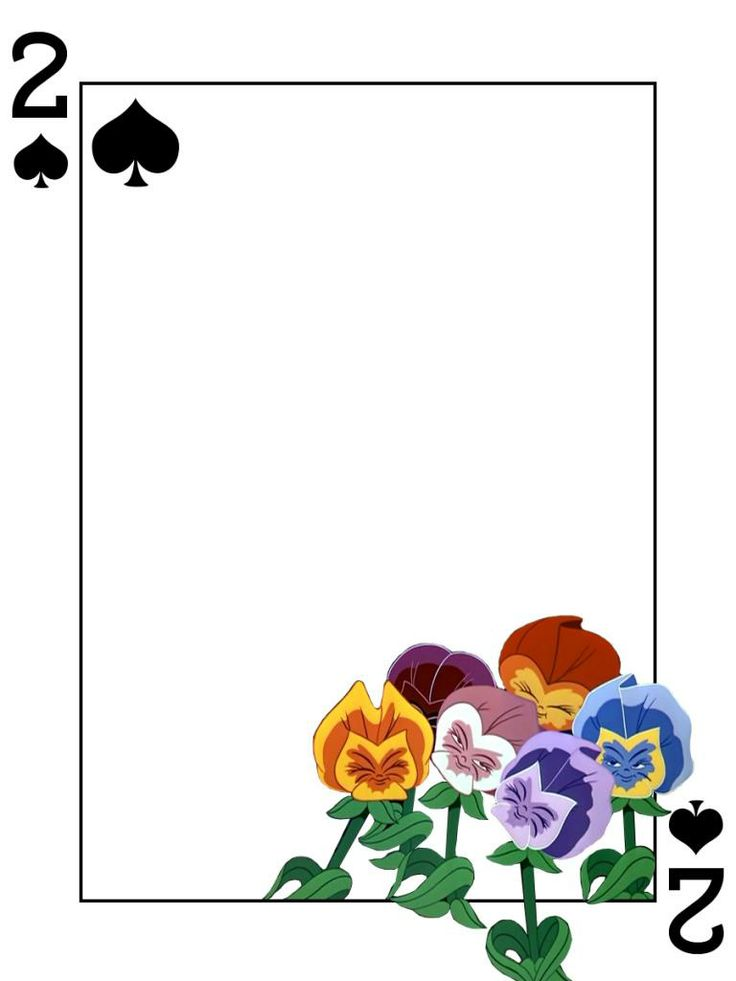 "Flowers - 2 of Spades - Alice in Wonderland  - Playing Card - Project Life Journal Card - Scrapbooking ~~~~~~~~~ Size: 3x4"" @ 300 dpi. This card is **Personal use only - NOT for sale/resale** Logo/clipart belongs to Disney. Font is Card Characters http://haroldsfonts.com/portfolio/card-characters/ *** Click through to photobucket for more versions of this card ***"