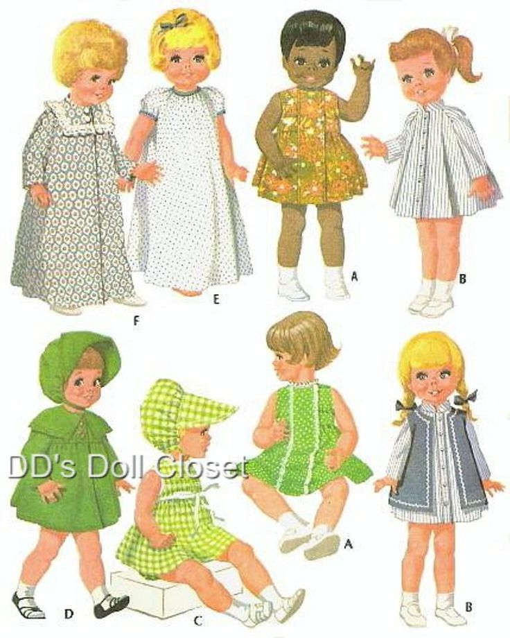 Vintage Doll Clothes PatternsVintage Dolls Clothing, Doll Clothes Patterns, Sewing Pattern, Dolls Clothing Pattern, Infantis Vintage, Vintage Pattern, Dolls Image, Things Dolls, Lulu Dolls