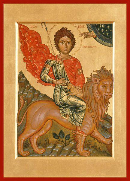 St. Mamas of Caesarea Russian Orthodox icon