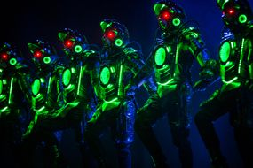 """THEATRE REVIEW: Michael Flatley's latest Irish dance show is assessed by Jethro Pope... """"tries to combine Celtic traditions and a Dystopian, robot universe""""... http://www.on-magazine.co.uk/arts/yorkshire-theatre/lord-of-the-dance-dangerous-games-review-bradford-alhambra/"""