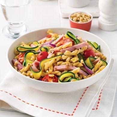 Gemellis au jambon et légumes - Soupers de semaine - Recettes 5-15 - Recettes express 5/15 - Pratico Pratique