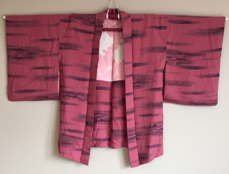 A personal favourite from my Etsy shop https://www.etsy.com/au/listing/464389790/1950s-haori-kimono-japanese-cropped