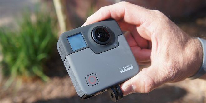 First real images of the GoPro Fusion Action Camera