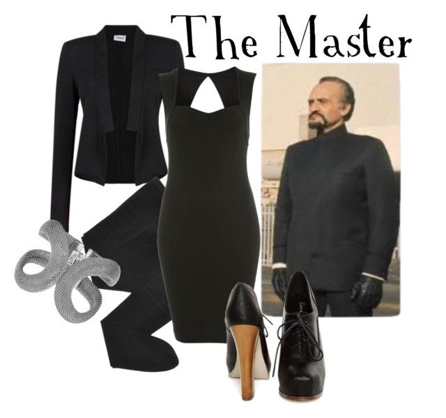 """The Master"" by companionclothes ❤ liked on Polyvore featuring Gerbe, Miss Selfridge, Elodie and doctor who"