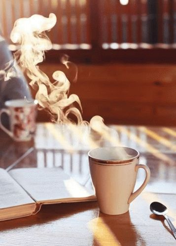 Coffee Steam GIF - Coffee Steam Drink - Discover & Share GIFs