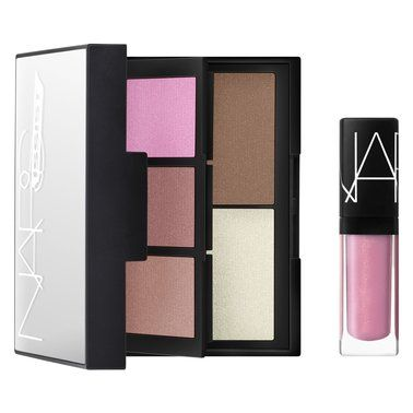 Housed in a super-stylish case, this compact contains a must-have collection of coveted Nars colour for cheeks and lips.