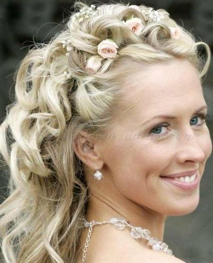 Bridal Hairstyles Half Up Half Down Color 56+ Greatest Concepts