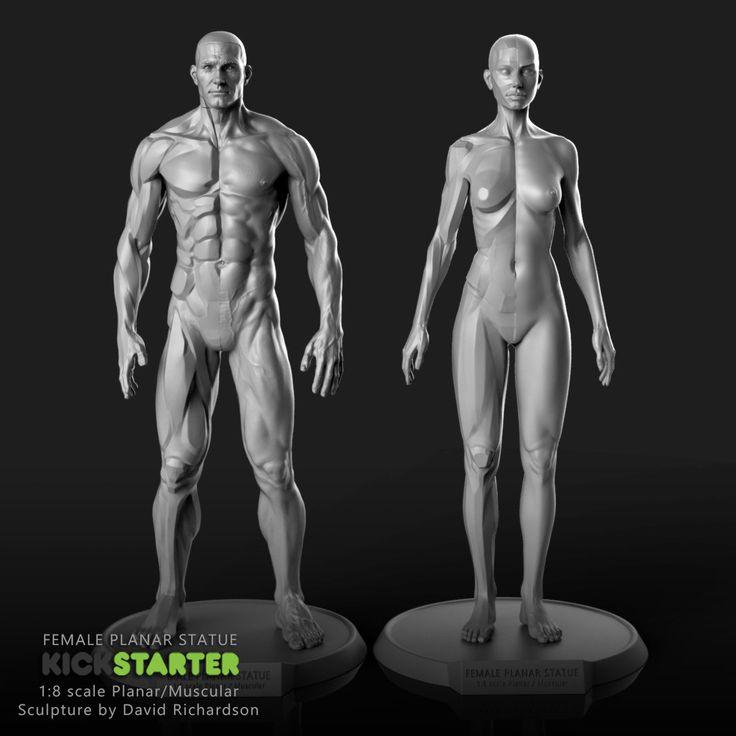 ArtStation - Planar Statues, David Richardson