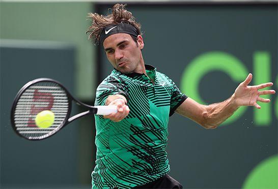 ロジャー・フェデラー(Roger Federer)2017マイアミオープン