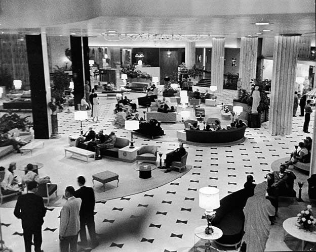 Fontainebleau Hotel Early 1960 S 44th And Collins Avenue 50s