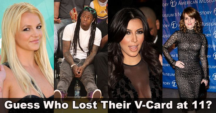 When did celebs lose their virginity-4921