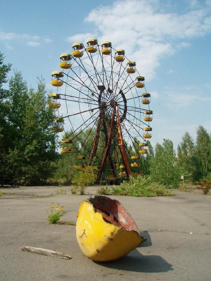 Pripyat, Ukraine amusement park: Abandoned Plac
