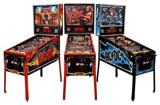 AC/DC versión Arcade: Machine Premium, Caves Game Rooms, Acdc Pinball Le And Premium, Play Pinball, Design