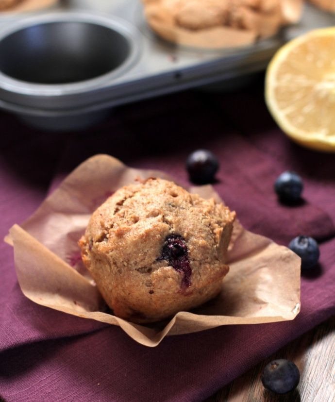 Best whole wheat blueberry muffins! Homemade Whole Wheat Blueberry Muffins | Live Simply