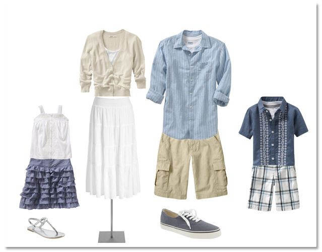 what to wear family photo summer - Google Search