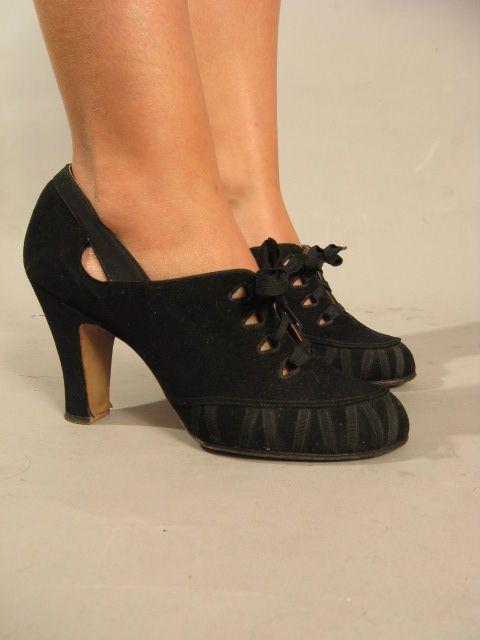 40s shoes - cute!