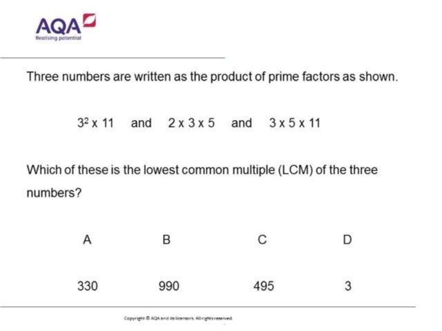 Factors and Multiples | Diagnostic Questions