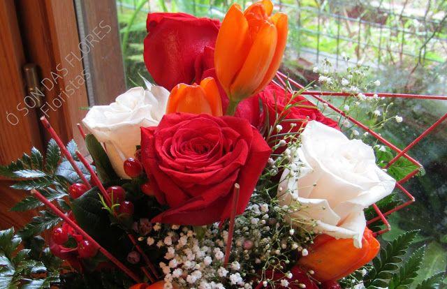 Ó son das flores: Ramos llenos de luz y delicadeza en muchos momento...