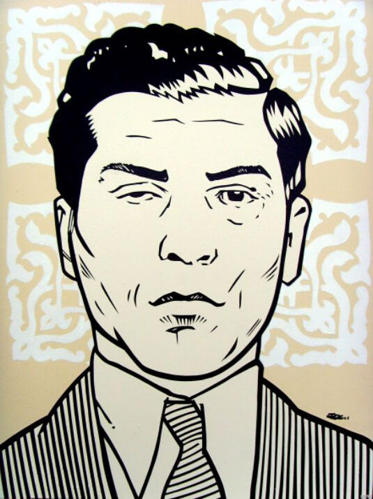 Charlie Lucky Luciano Mafia Mobster Poster