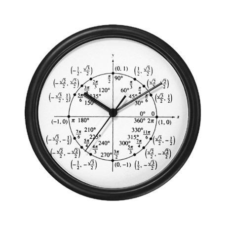 Math clock... Too funny