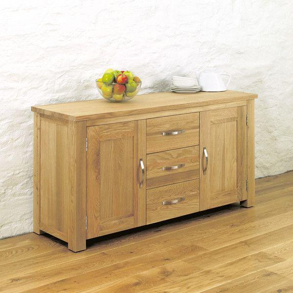 Aston Solid Oak Large Sideboard
