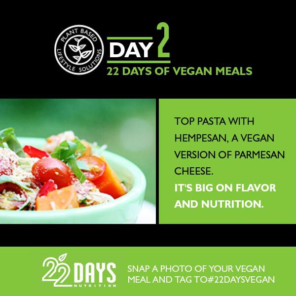 Day 2: 22 Days of Vegan Meals Meal plan and recipes by Gena Hamshaw, certified clinical nutritionist and author of Choosing Raw Breakfast Smoothie with 1 cup almond milk, 1 large frozen banana, 1-2...