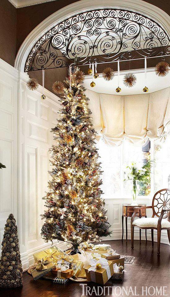Skinny Fake Christmas Trees